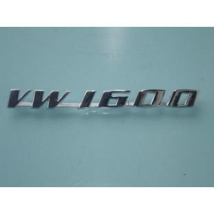 Emblema VW 1600 Variant Brasilia Karmann Ghia