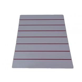 Painel Canaletado Display Branco MDF 122 x 105