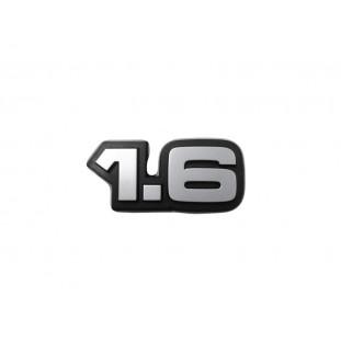 Emblema 1.6 Tampa Traseira Porta Malas Chevette Marajó 83 em Diante Original