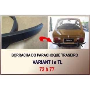 Borracha Parachoque Traseiro Variant, TL 72 a 77 1,60M