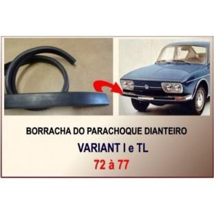 Borracha Parachoque Dianteiro Variant e TL 72 à 77 90CM