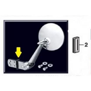 Acabamento do Retrovisor Externo - (Par)