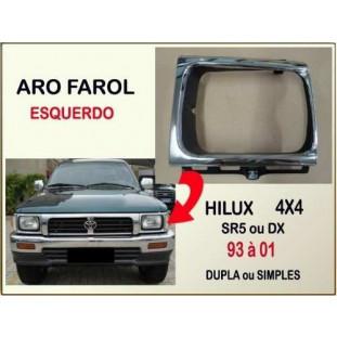 Aro Farol Hilux 4X4 SR5, DX 93 à 01 Esquerdo