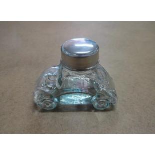 Baleiro De Vidro Fusca Tamanho Mini Novo 10,5 Cm