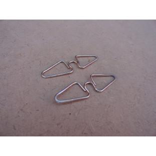 Borboleta Trava Máquina de Vidro Fusca - Par