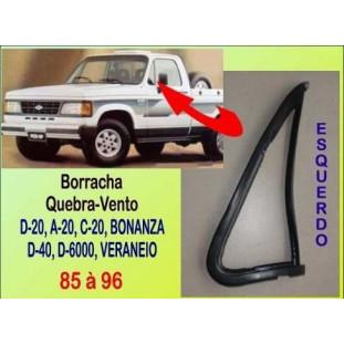 Borracha Quebra-Vento D-20, Bonanza, Veraneio 85 à 96 Esquerdo
