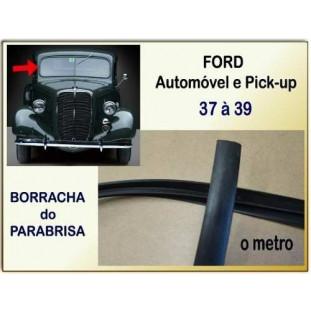 Borracha Parabrisa Ford 37 à 39 - 4 Metros