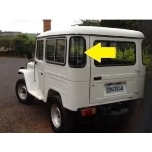 Borracha Vidro Canto Jeep e Perua 68 em Diante
