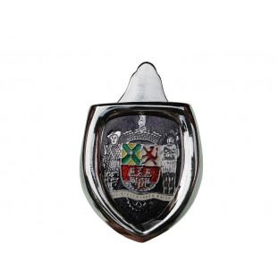 Brasão Emblema Capô com Moldura Paulistarum Roxo Fusca até 1966