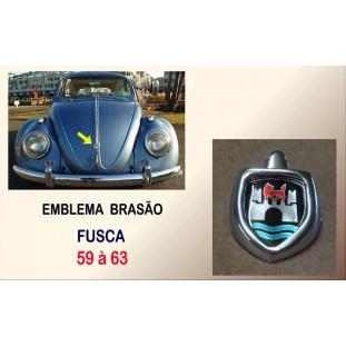 Emblema Brasão Frontal Fusca 59 à 63 Alemão, Mexicano, Americano