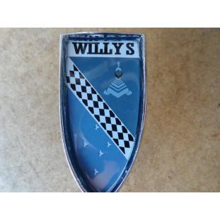 Brasão Coluna Traseira Aero Willys 63 à 69