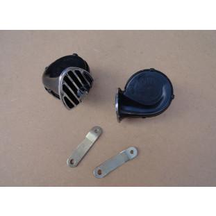 Buzina Caracol Mini Fiamm 6V Original Nova - Par