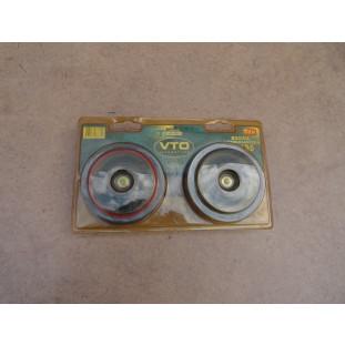 Buzina VTO BC135 Dupla Eletromagnética Tipo Paquerinha 12V