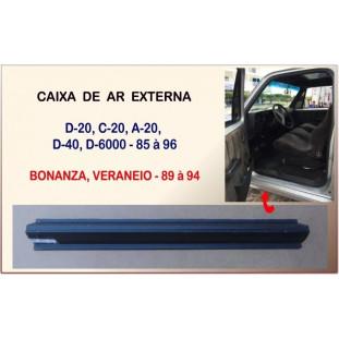 Caixa Ar Externa Aberta D-20 D-40 D-6000 Bonanza Veraneio 85 a 96