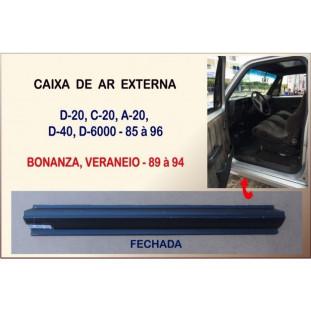 Caixa Ar Externa Fechada D-20,D-40,D-6000,Bonanza,Veraneio 85 à 96