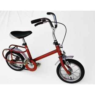 Bicicleta Antiga Caloi Totica Aro 10 Vermelha Original Usada