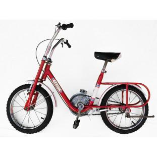 """Bicicleta Antiga Caloi Berlineta Vermelha Aro 14"""" Original Restaurada"""