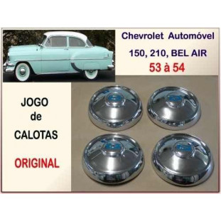 Calota Chevrolet 53 á 54 Original Jogo