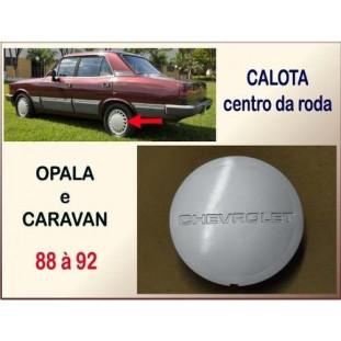 Calota Centro Roda Opala Caravan 88 à 92 - Unitário