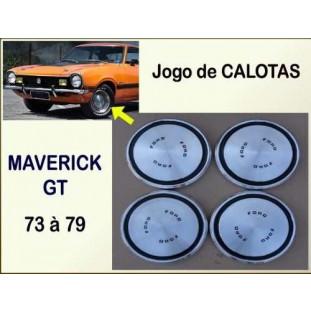 Calota Maverick GT V8 73 à 79 Alumínio - Jogo
