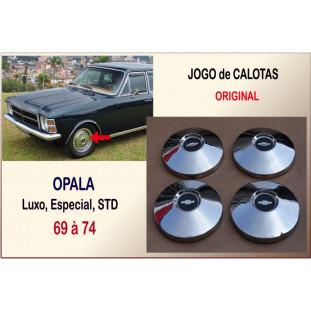 Calota Original Opala 69 à 74 Usada - Jogo