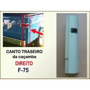 Canto Traseiro Caçamba F-75 60 à 82 Direito