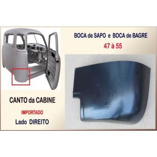 Canto Cabine Boca de Sapo Bagre 47 à 55 Importado Direito