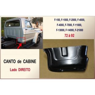 Canto Cabine F-100, F-1000 72 à 92 - Direito
