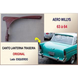 Canto da Lanterna Traseira Aero Willys 63 à 64 - Original