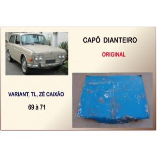 Capô Dianteiro Variant, TL, Zé Caixão 69 à 71 Original