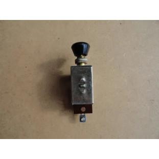 Chave De Luz 2 Posições Com Botão Preto Hot Rod Carro Antigo