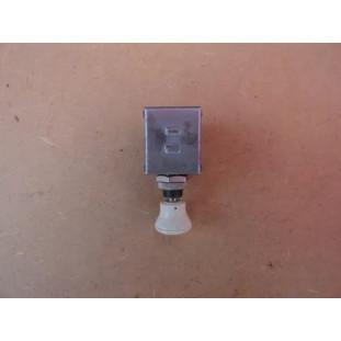 Chave De Luz 1 Posição Botão Branco Carro Antigo Adaptação