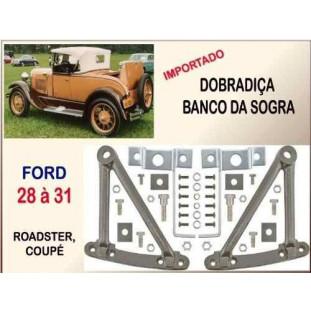 Dobradiça Banco Sogra Ford 28 à 31 Importada - Jogo