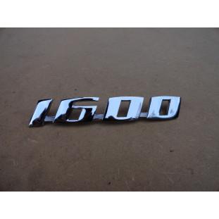 Emblema 1600 Cromado Fusca Variant l TL Novo