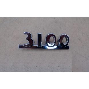 Emblema 3100 Chevrolet 3100 47 à 52