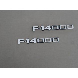 Emblema Adesivo F-14000 83 à 92 - Par
