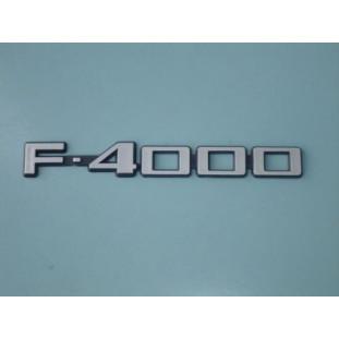 Emblema Adesivo F-4000 84 à 92 - Unitário