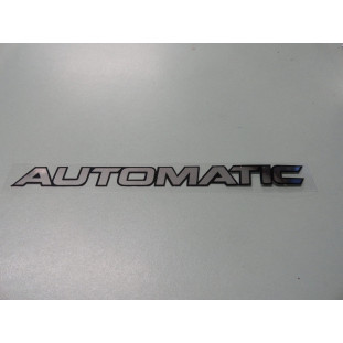 Emblema Automatic Tampa Traseira Hilux / SW4 Toyota 2005 A 2016