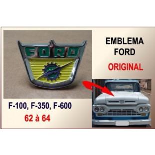 Emblema Ford F-100 62 à 64 Original