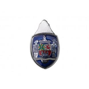 Emblema Brasão Paulistarum Capô Fusca 1959 a 1966 Grande