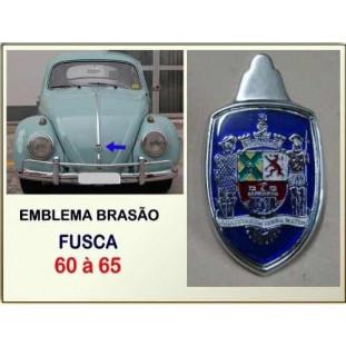 Emblema Brasão Paulistarum Fusca 60 à 65 Brasileiro