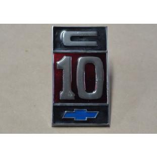 Emblema C-10 Fixação Pinos
