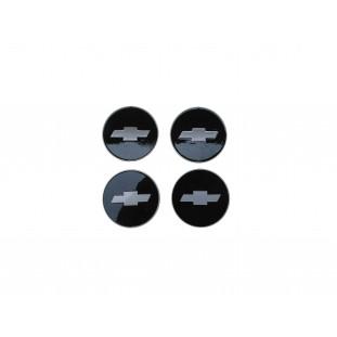 Emblema Calota Roda D-10 C-10 Super Luxo Chapinha Logo - Jogo