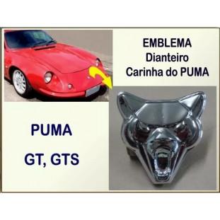 Emblema Capô Dianteiro Face Puma GT e GTS Cromado