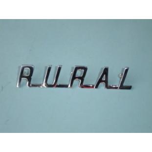 Emblema Capô Rural