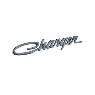 Emblema Dodge Charger Lateral Traseira e Coluna Cromado Novo Fixação Parafuso