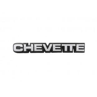 Emblema Lateral ou Traseiro 14cm Chevette 83 em Diante Original GM Novo