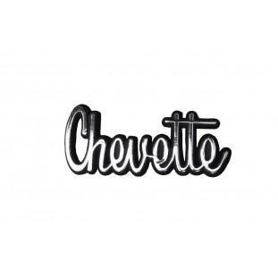 Emblema Chevette Capô ou Traseira até 1979 Cromado Plástico - Unitário