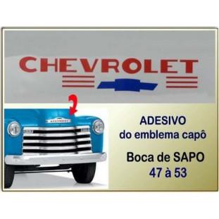 Emblema Chevrolet (Adesivo)