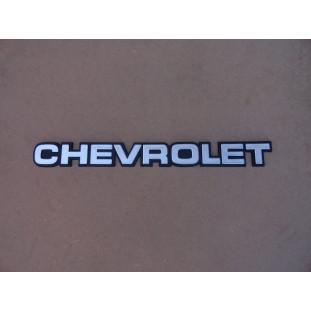 Emblema Chevrolet Tampa Traseira D-20 Veraneio Bonanza 1985 a 1996 Novo